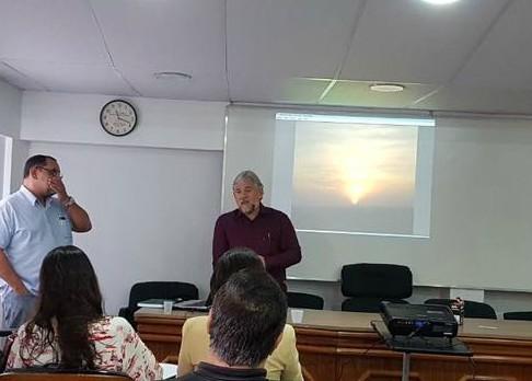 Betinho participa de palestra no SINPACEL