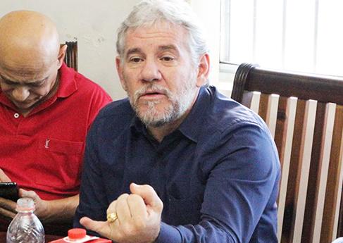 Reunião da FESPAM na sede da Federação dos Estados de SP/MS